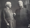 Khwaja Kamal-ud-Din with Lord Headley, 1913