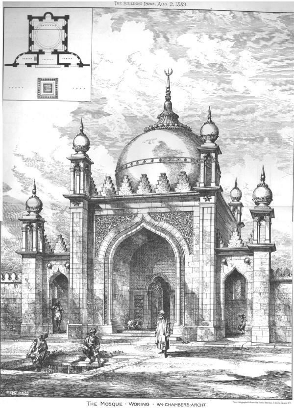 Le antiche moschee di Liverpool e Woking